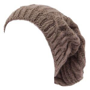 Hüte & Mützen 8050w Cappello Donna No Brand Light Brown Wool Blend Hat Woman Neueste Technik