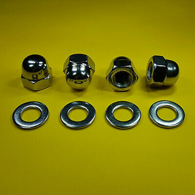 Nylon, 15 x M3 Material Nylon//Polyamid DIN 1587 Kunststoff Hutmutter Sechskant