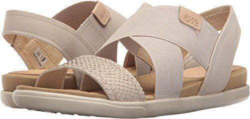 ECCO 2-Strap Damenschuhe Damara 2-Strap ECCO Flat Sandale- Pick SZ/Farbe. 5f467c