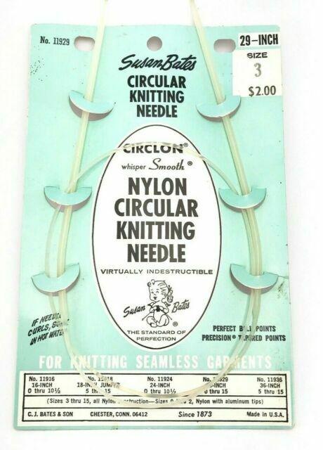 Susan Bates 24-Inch Silvalume Circular Knitting Needle 4.5mm