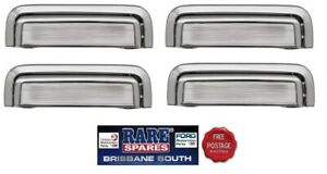 HOLDEN-COMMODORE-VB-VC-VH-VK-VL-4-X-OUTER-DOOR-HANDLES-FRONT-AND-REAR-CHROME