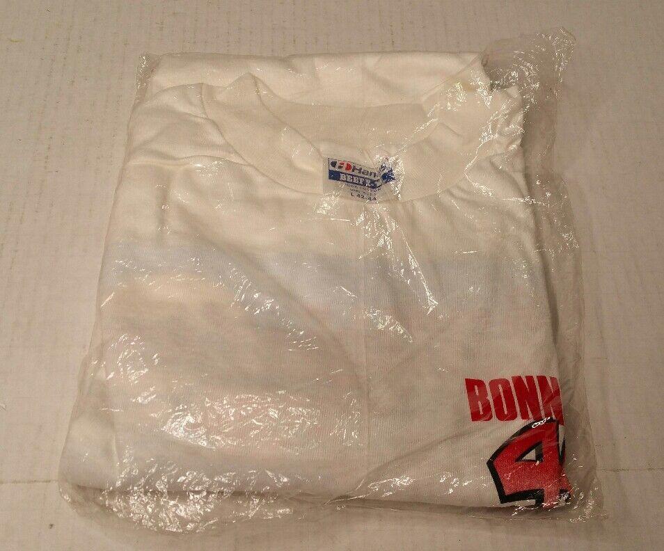 Rare Shirt Vintage 1988 40th Annual Bonneville Salt Flats Tee Shirt Rare bianca Large NIB 14fb2b