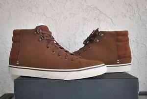 dff744b4f41 UGG Men's Hoyt Dark Chestnut Leather Waterproof Lace-Up Shoes Size ...