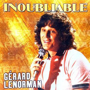 Gérard Lenorman CD Inoubliable - France (M/G+)