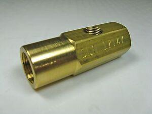Waste Oil Heater Parts 17147 Delavan Siphon Nozzle Adaptor