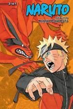Naruto 3 in 1 volumi: 49, 50, 51 di Masashi Kishimoto (libro in brossura, 2017)