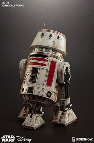 Star Wars 12  R5-D4 Action Figure by Sideshow Collectibles Nuovo MIB
