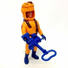 "Vintage 80s Movie toy GHOSTBUSTERS Peter Venkeman Fright Feature 5"" figure"