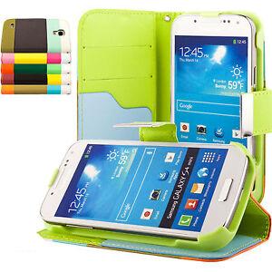 Samsung-Galaxy-S4-mini-i9195-Coque-de-protection-Housse-Pochette-wallet-Case