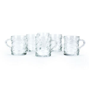 Lot-de-6-Tasses-en-Verre-270ml-Mug-pour-Latte-Cappuccino-Chocolat-Chaud-Cafe-The