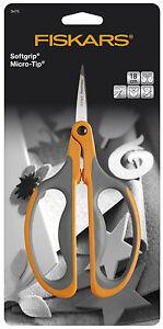 Fiskars-18cm-Micro-Tip-Big-Loop-Handle-Stem-Trim-Scissors-F9476