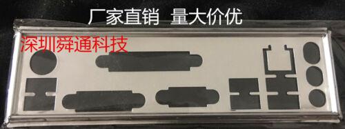 Hot IO I//O Shield Back Plate BackPlate Blende Bracket for MSI B85M-P33 V2