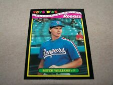 "TEXAS RANGERS MITCH ""WILD THING"" WILLIAMS 1987 TOYS ""R"" US ROOKIES #24 OF 33"