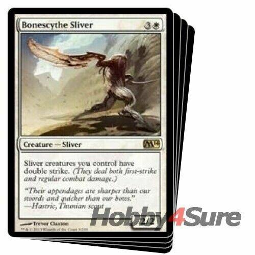 English Magic 2014 MTG Magic 4x Striking Sliver NM-Mint