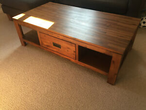 Wooden Coffee Table From Macys Usa Ebay