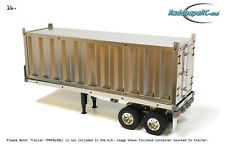 TAMIYA Truck RADSHAPE RC New Metal Container for RC  Trailer, CARSON RARA10006,