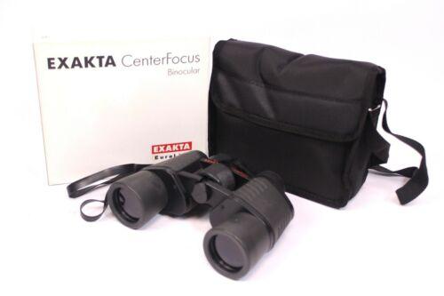 Exakta Center focus t205 12x50 mm prismáticos negro prismenglas estuche BINOCULARS