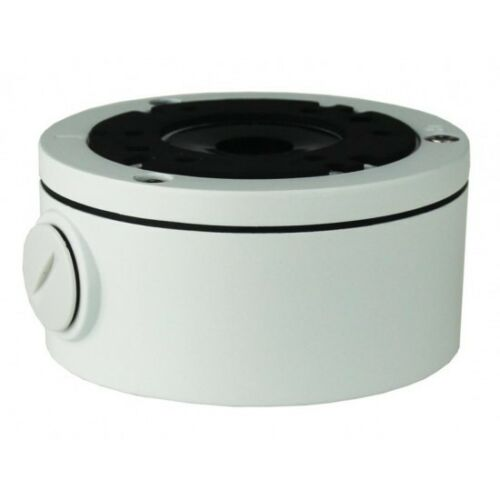 Universal Outdoor Deep Base Junction Box for CCTV Cameras 101 x 52mm White Color