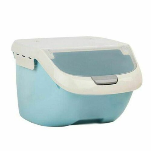 Moisture Proof Flip Cover Rice Storage Box Kitchens Wear Modern Styles Container
