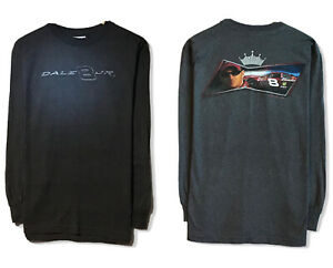 Vtg-Chase-Dale-Earnhardt-Jr-NASCAR-Men-039-s-Double-Sided-Long-Sleeve-T-Shirt-Sz-M