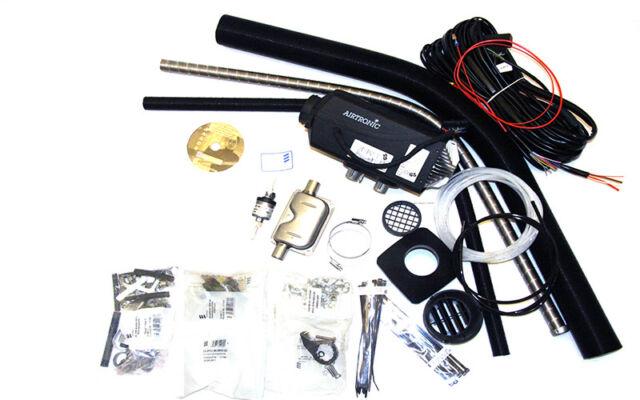 Eberspacher Airtronic D2 12v Diesel Nigh Radiateur Kit (avec Digital Contrôleur)