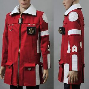 Image is loading Star-Trek-II-The-Wrath-of-Khan-Admiral- & Star Trek II The Wrath of Khan Admiral Kirk Field Coat Pants Costume ...