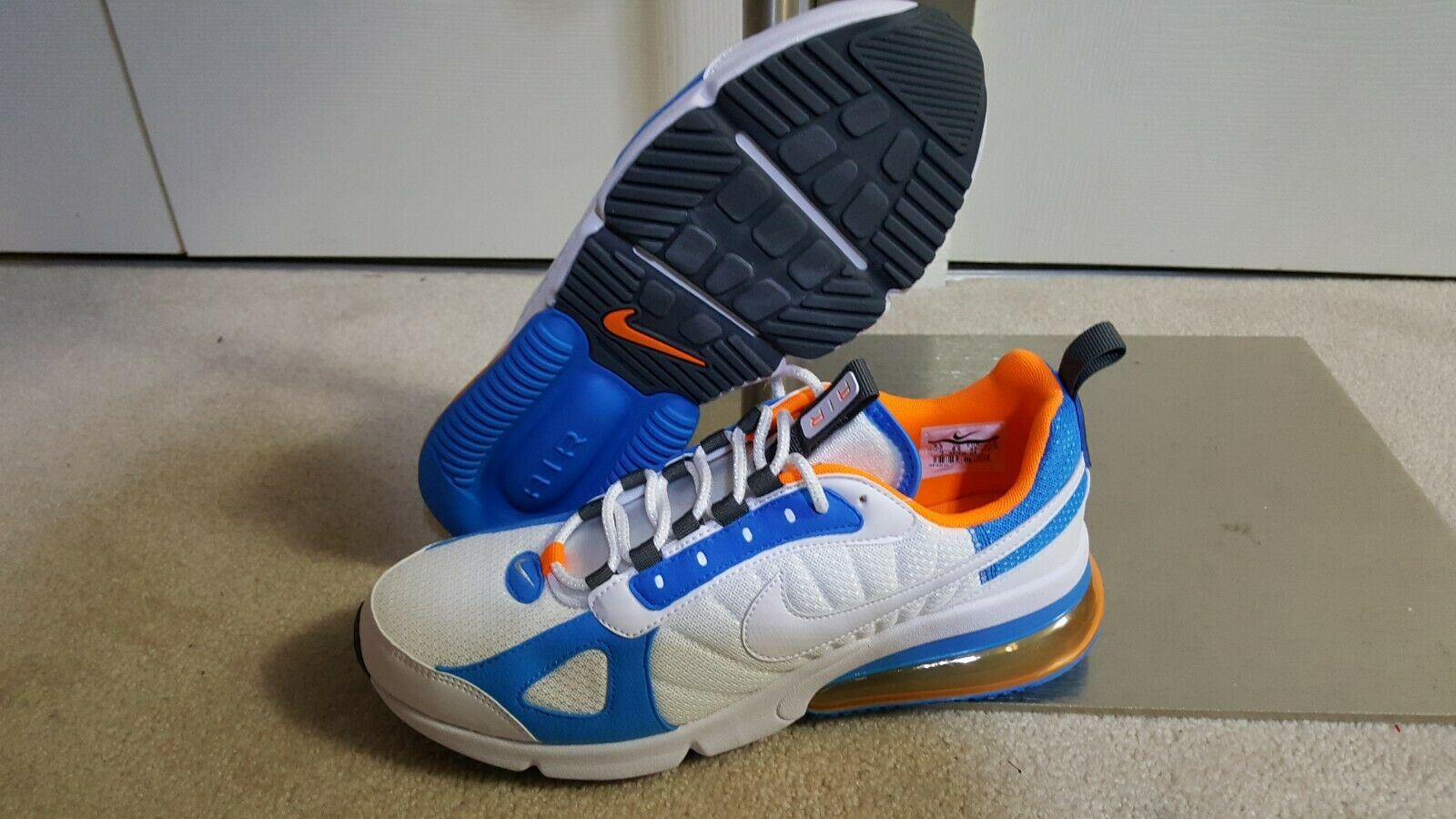 28e83ad6a671 ... New Men NIKE AIR MAX 270 FUTURA FUTURA FUTURA low top running sneakers  Size 9.5 712ff6