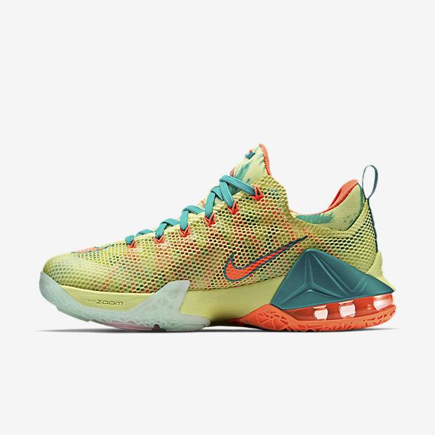 Nike Nike Nike LeBron 12 XII Low Lebronold Palmer Size 10. 776652-383 bhm what the cork 65b4ca