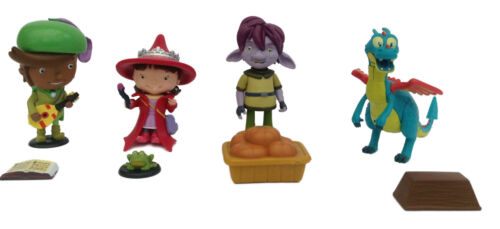 FIGURINES SQUIRT Mike The Knight Avec Accessoires TROLLEE FERNANDO EVIE