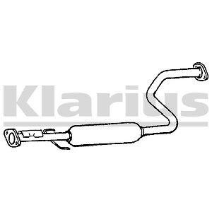Replacement Exhaust Centre Middle Silencer 2 Year Warranty Brand New!