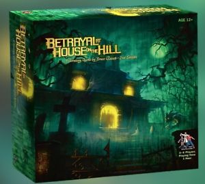 Avalon-Hill-Betrayal-at-House-on-the-Hill-with-Widow-039-s-Walk-Expansion-COMBO