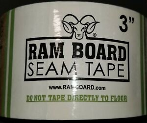 3 - Ram Board Seam Tape 3 Inches 164 Feet RT3-164 NEW SEALED Free Shipping