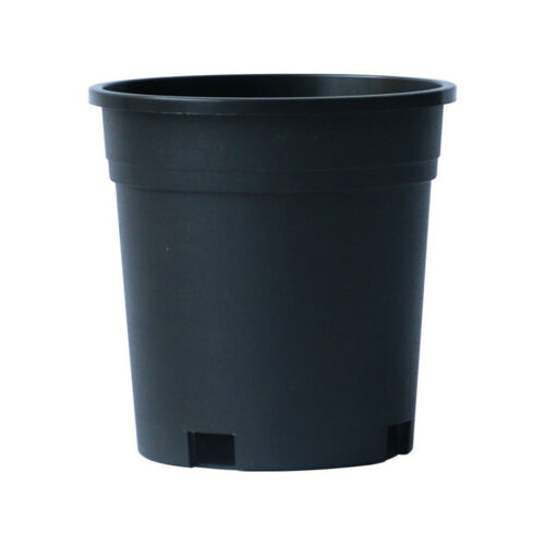 5Pcs Durable Large Planter Potted Plant Flowerpot Nursery Pot Seeding Container