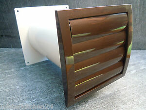 mauerkasten nw 150 lamellengitter braun insektengage r ckstauklappe abluft k che ebay. Black Bedroom Furniture Sets. Home Design Ideas
