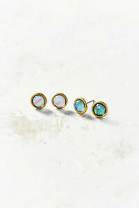 b658166a1 Urban Outfitters Bubble Burst Mini Post Stud Earrings NIP $45 SET OF ...