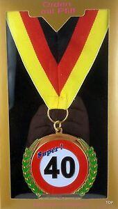 Orden-para-40-Cumpleanos-Diversion-Aniversario-Medalla-para-Colgar-Nuevo