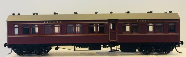Casula Hobbies: CR1386 Composite Indian rosso Single Car.