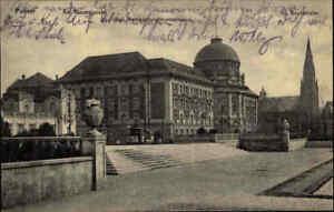 Feldpostkarte-1914-POSEN-Pozna-Theater-Platz-AK-Polen-Feldpost-1-Weltkrieg