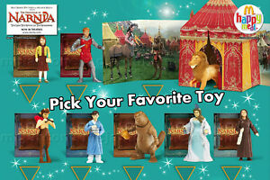 MIP-McDonald-039-s-2005-CHRONICLES-of-NARNIA-Lion-Witch-WARDROBE-Diorama-CHOOSE-TOY