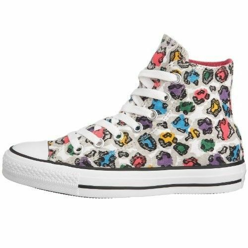 Converse CT Rainbow Hi Chucks All Star Canvas Trainers Scarpe Sneaker da Donna Trainers Canvas 3d876b