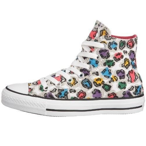 Converse CT Rainbow Hi Chucks All Star Canvas Trainers Scarpe Sneaker da Donna Trainers Canvas 272fc0