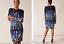 Phase-Eight-UK-20-Black-Kris-Floral-Placement-Print-Long-Sleeve-Pencil-Dress-48 thumbnail 8