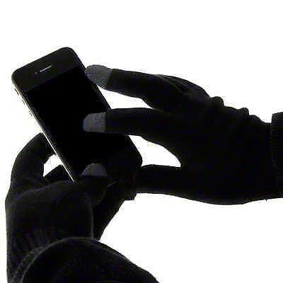 Amichevole Guanti Da Schermo Tablet Touch Cellulare Calda Termica Unisex Inverno Regalo Di Natale-mostra Il Titolo Originale