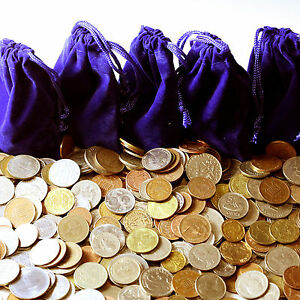 BEST-DEAL-1-4-POUND-WORLD-COINS-COLLECTOR-GIFT-BAG-WHOLESALE-COIN-LOT-INVEST-NOW