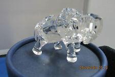 Swarovski Crystal Elephant With Big Ears & 4 Legs