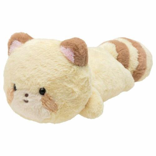 Kokoro Araiguma Raccoon Plush Doll 42cm Hold Soft Plushy Japan SAN-X
