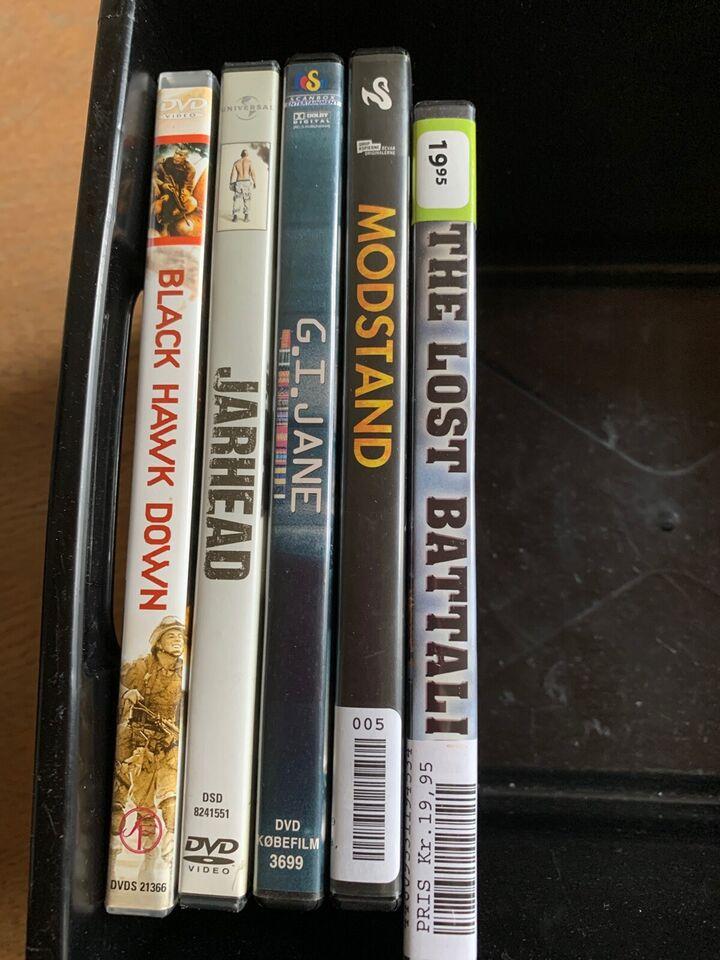 Blandet, DVD, drama