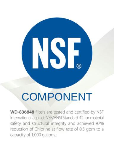 Compatible Filtre à Eau pour Fisher /& Paykel Fridge 836848 8368 60 67003662 1