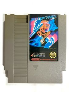 Winter-Games-ORIGINAL-NINTENDO-NES-GAME-Tested-Working-amp-Authentic