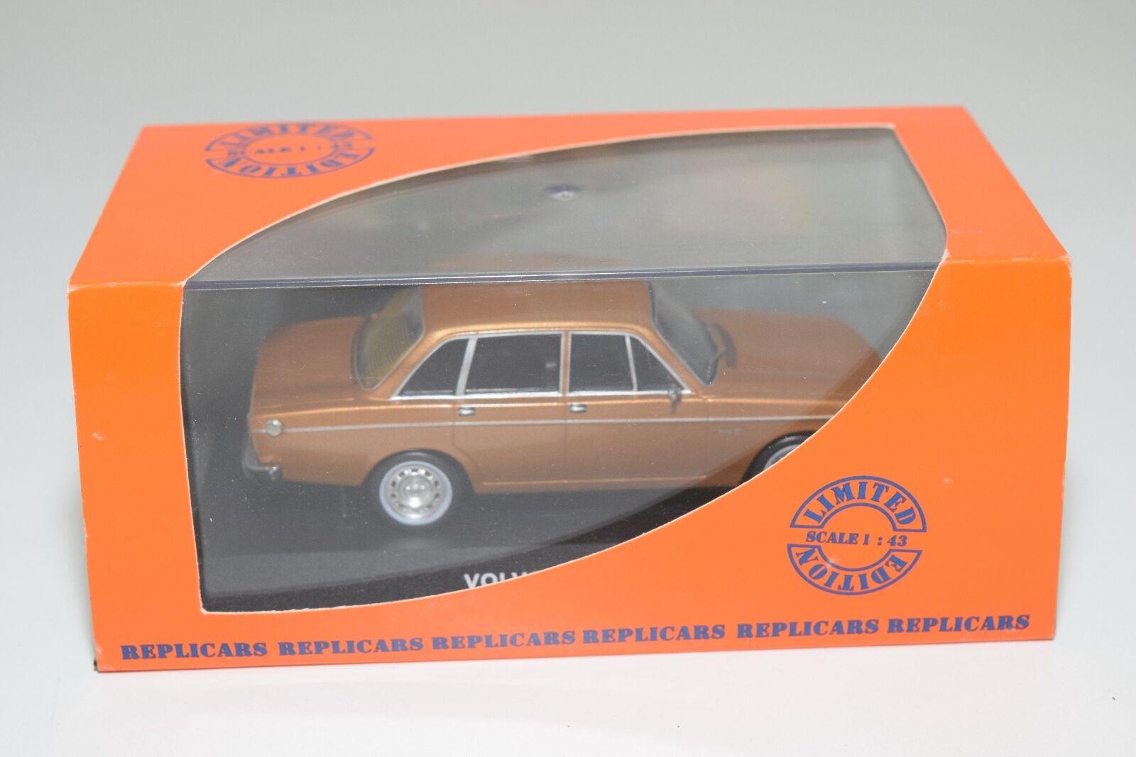 . IXO REPLICocheS REP CLC18 VOLVO 144 1972 METALLIC marrón MINT BOXED RARE SELTEN
